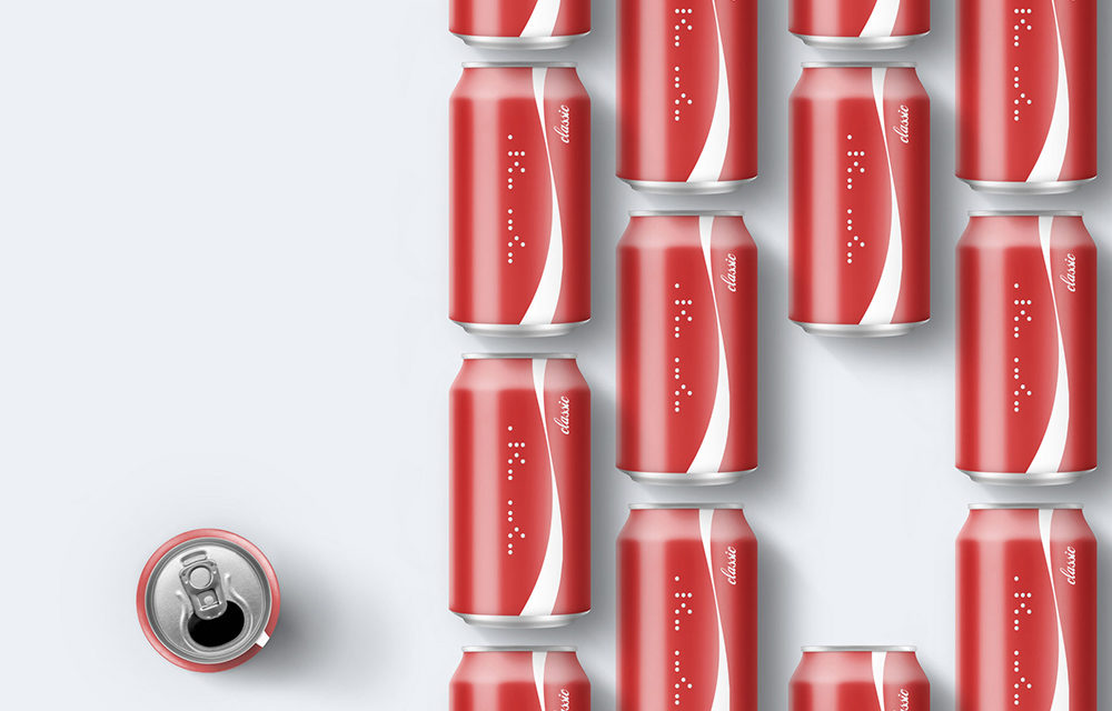 Coca-Cola Share a Coke braille