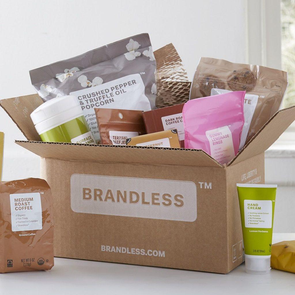 brandies packaging scatola cartone delivery