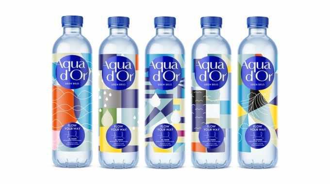 aqua d'or Kozak packaging digital printing
