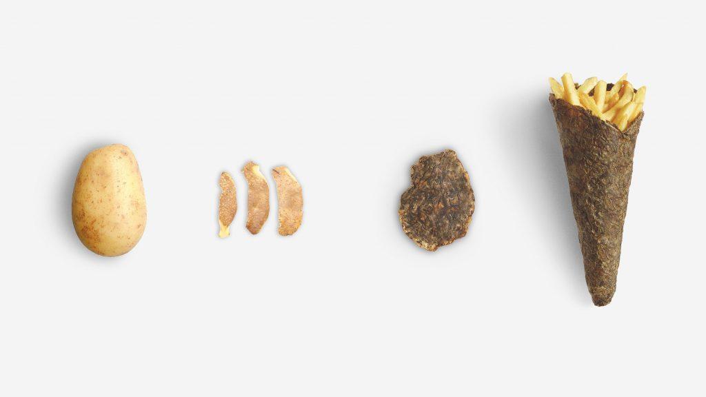 Peel Saver, la confezione realizzata a partire da bucce di patate