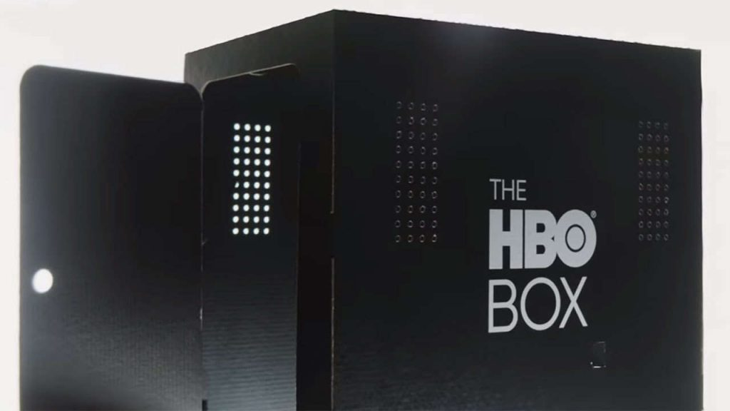 HBO, Box, scatola, serie tv, packaging