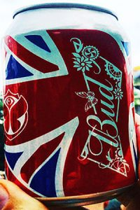 Budweiser, Tomorrowland, lattina, can, digital printing