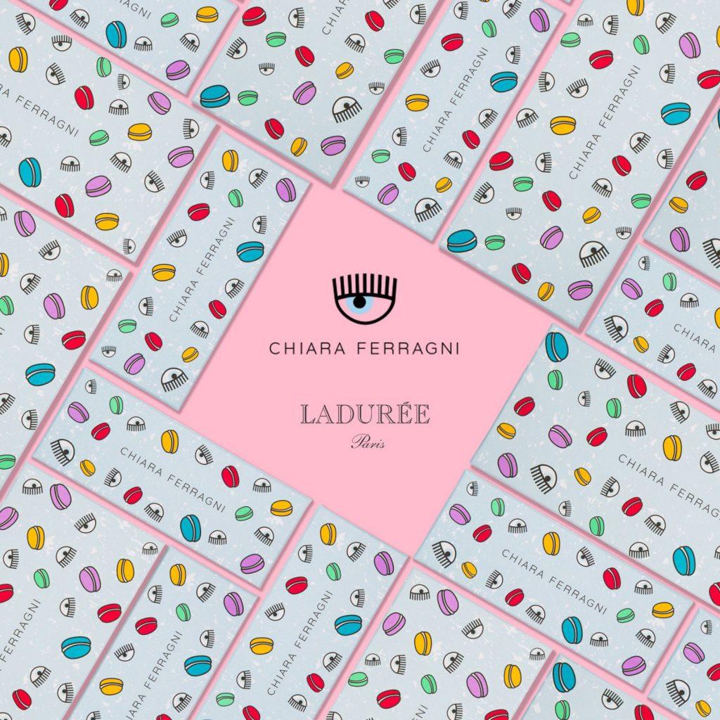 Chiara Ferragni, packaging, brand, ladurèe