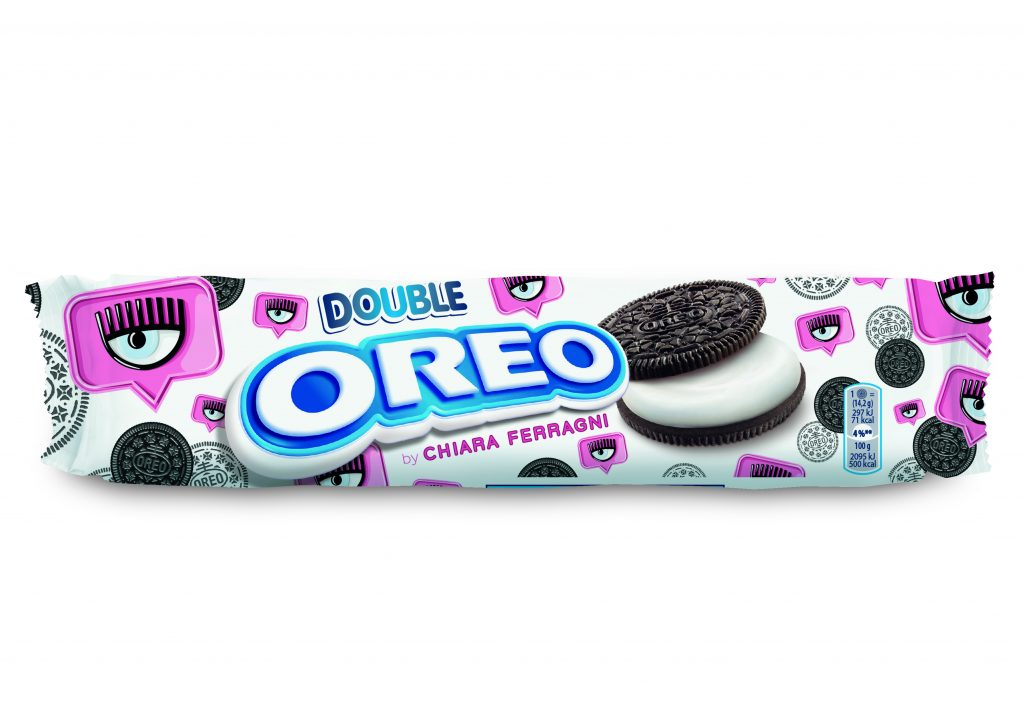 Chiara Ferragni, packaging, brand, Oreo