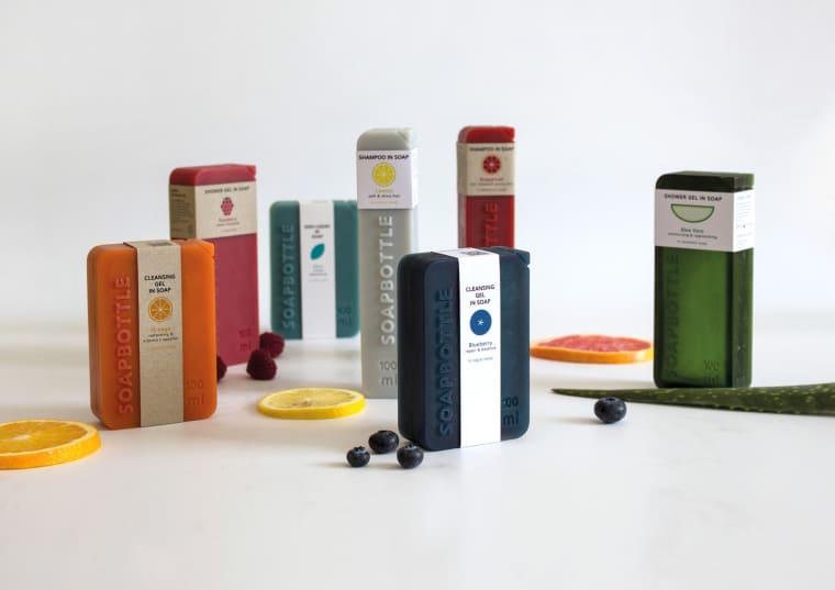 SOAPBOTTLE, soap, sapone, packaging, bio