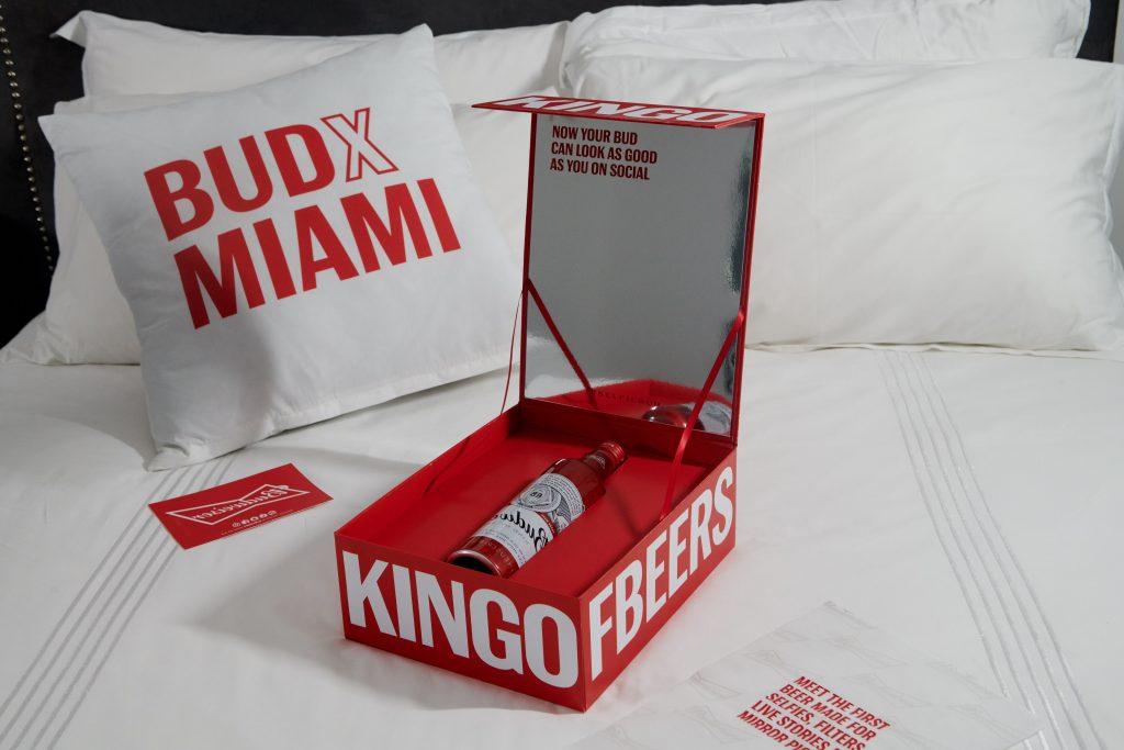 Budweiser, beer, selfiebud, label, super bowl, etichetta