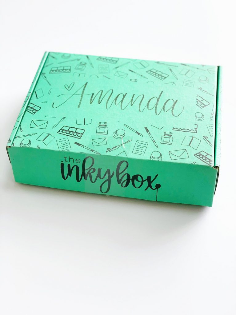 subscription box, packaging, home, delivery, inky, creativity