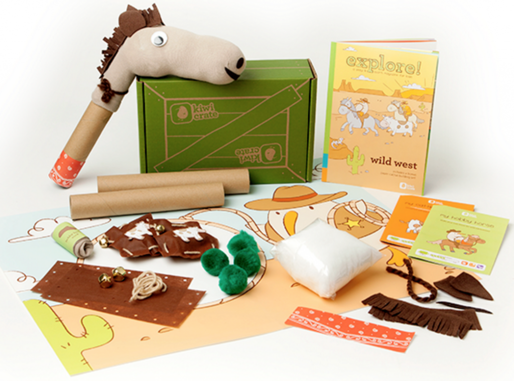 KiwiCo, packaging, baby, cardboard, creative, box