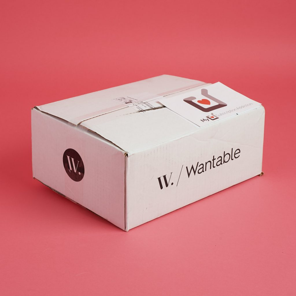 subscription box, packaging, home, delivery,Wantable