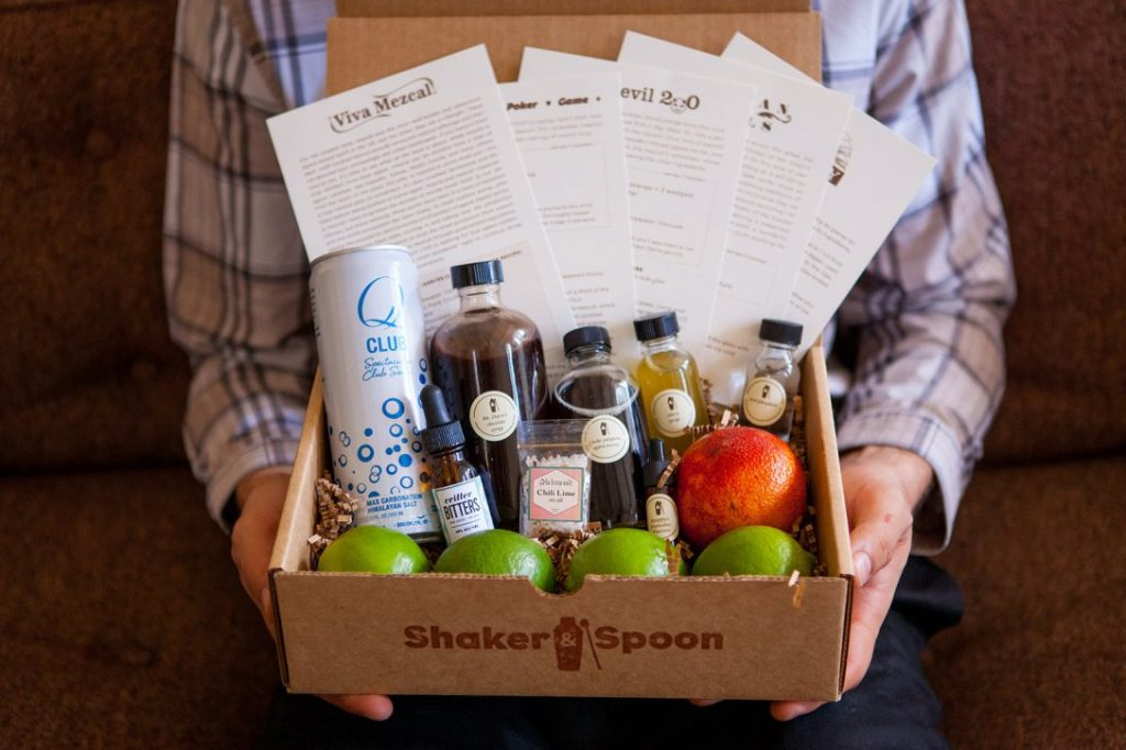Shaker Spoon, subscription box, packaging, creative, home, drink, cocktail