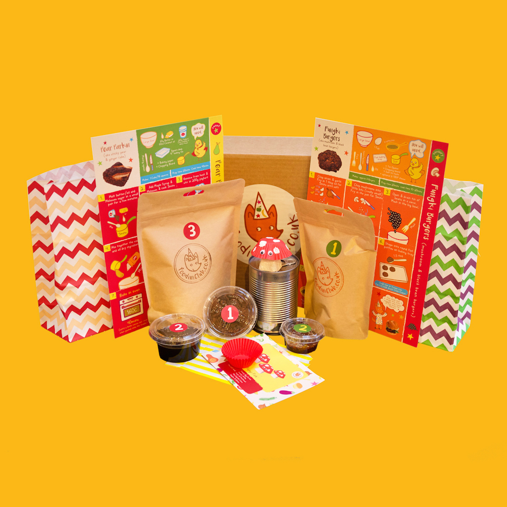 Foodini Club, packaging, baby, cardboard, creative, box
