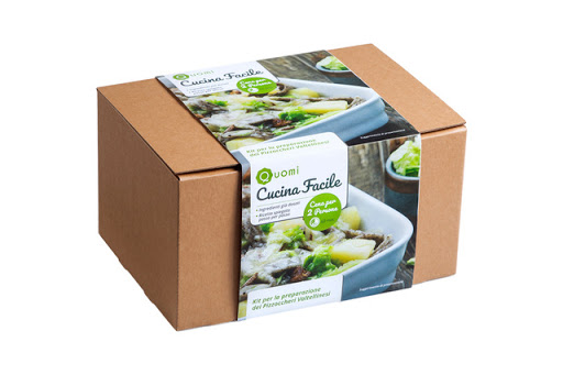 subscription box, packaging, home, delivery, food, home, Quomi