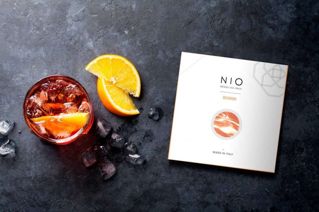 NIO, ready to drink, packaging