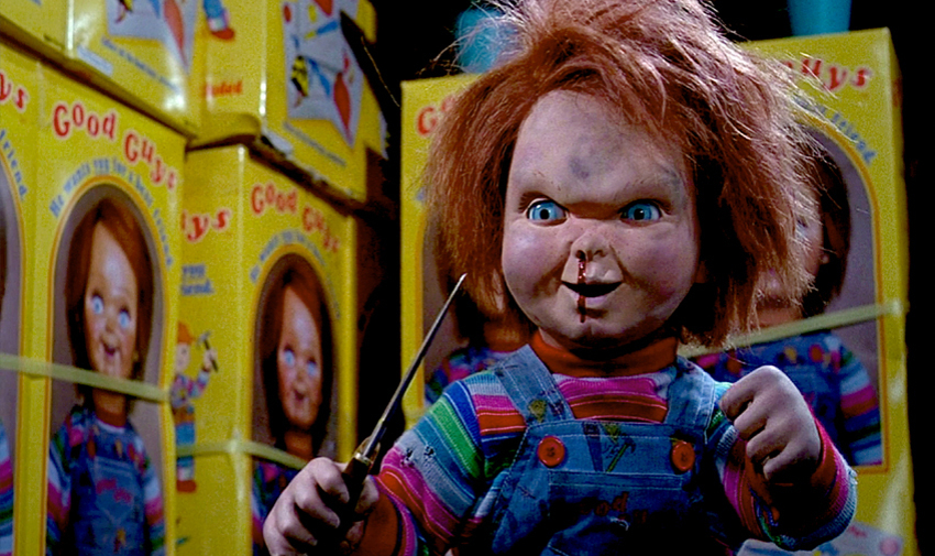 packaging, film, Chucky,