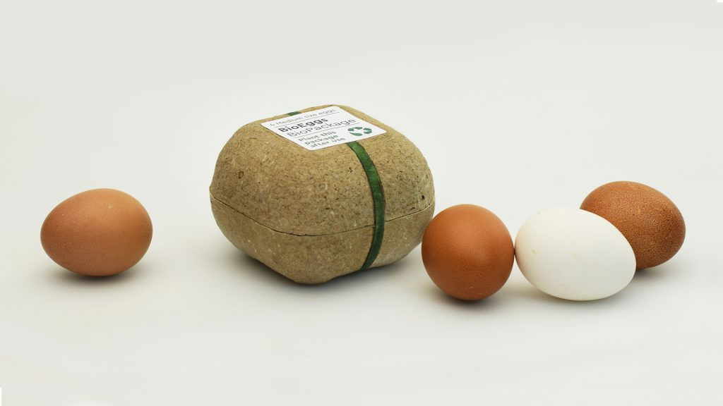 Biodegrapack, Egg Packaging, George Bosnas