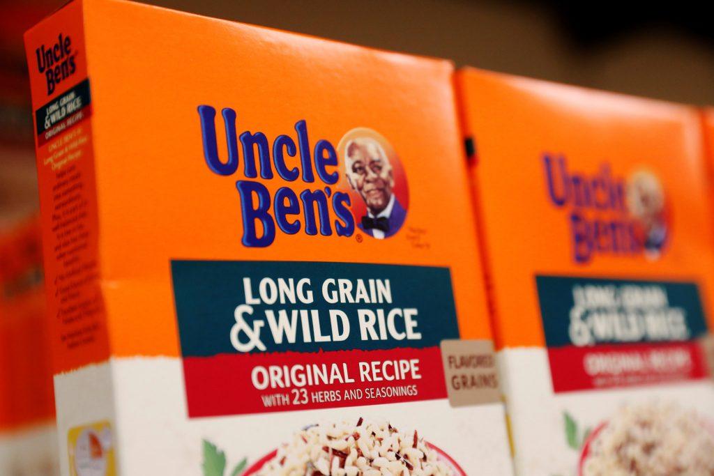 Uncle Ben's, packaging, razzismo