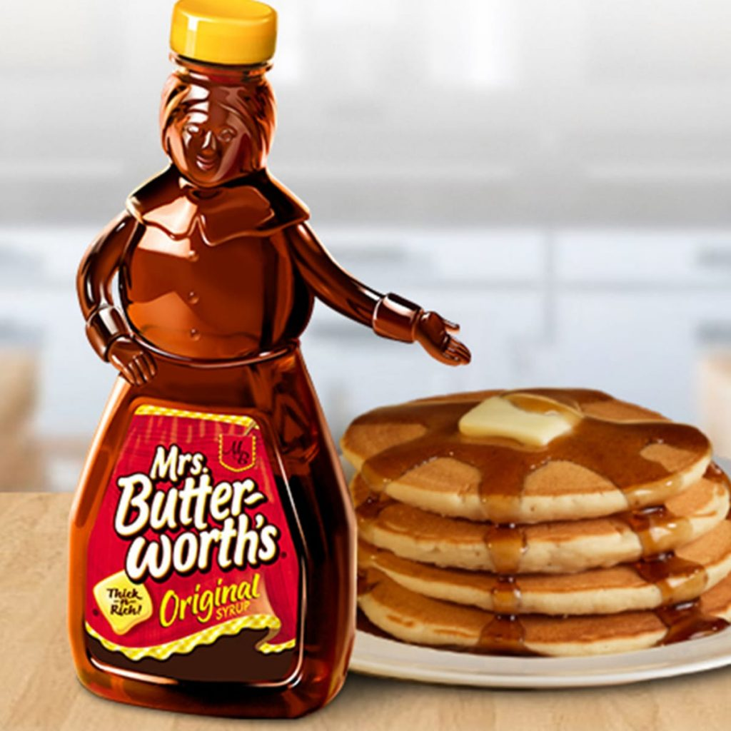 Mrs Butterworth's, packaging, razzismo